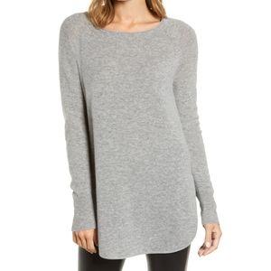 Halogen | Nordstrom Gray Cashmere Sweater